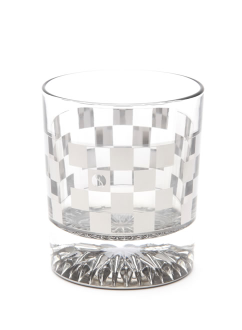 Titaniumline GLASS ロックグラス 市松