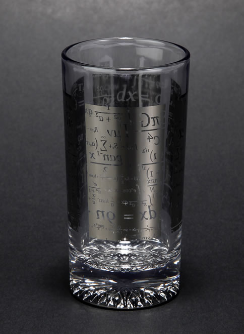 Titaniumline GLASS タンブラー 数式